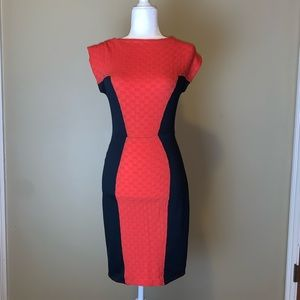 Closet brand Coral sheath Dress #3012